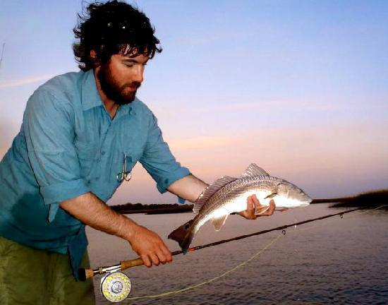 Pawleys Island, SC: Fly Fishing for Red Drum