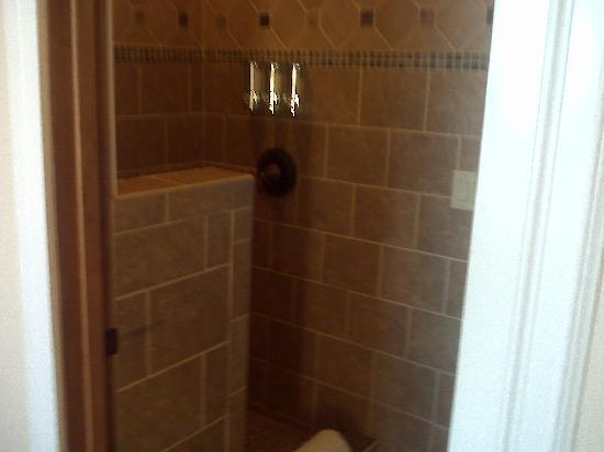 The Collins Inn and Seaside Cottages: SHOWER