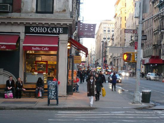 Soho Café - einen Kaffee auf die Hand nehmen