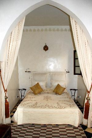 Riad Aguaviva: Una d las habitaciones.
