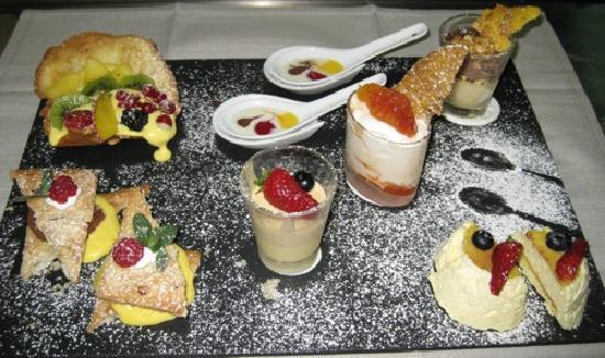 Wellness Sporthotel Hotel Alpenhof: dessert