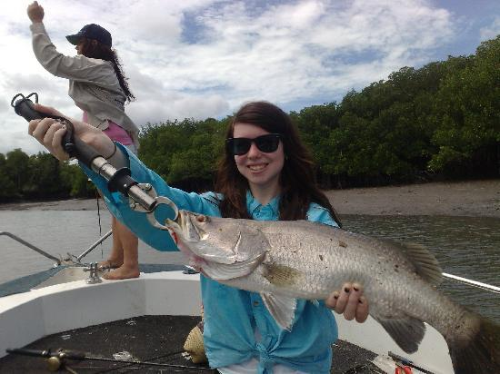Clearwater Island Lodge: Steph's catch