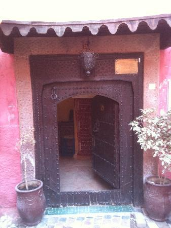 Origin Hotels Riad Magi : the entrance