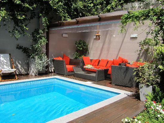 Duque Hotel Boutique & Spa : Pool area