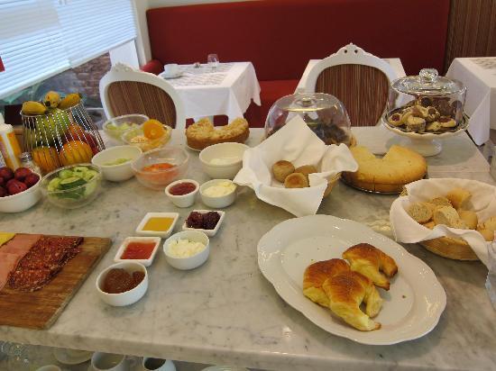 Duque Hotel Boutique & Spa : Breakfast selection