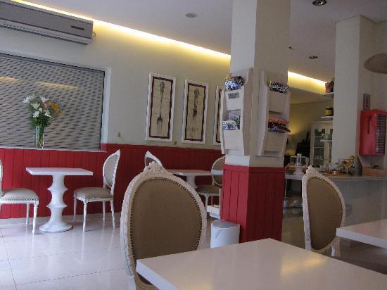 Duque Hotel Boutique & Spa : Breakfast area
