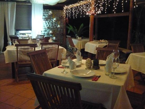 Villa Italia: interno del ristorante