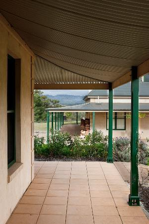 Abbotsford Country House: Enjoy a glass of something under Abbotsford's huge verandahs