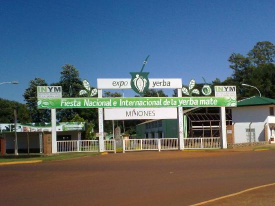 Apostoles, Argentina: Expo yerba, lugar donde se lleva a cabo las fiestas anuales