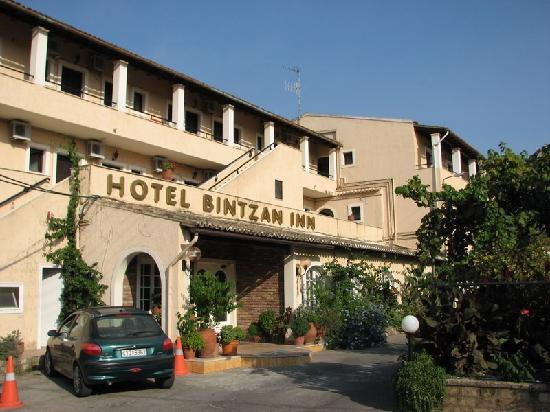 Achilleio, Grecja: Hotel entrance