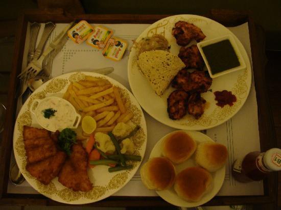 سافوي هوتل: Food