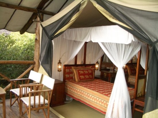 Fig Tree Camp: Tent Inside