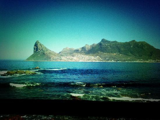 Stunning views of the Sentinel in Hout Bay