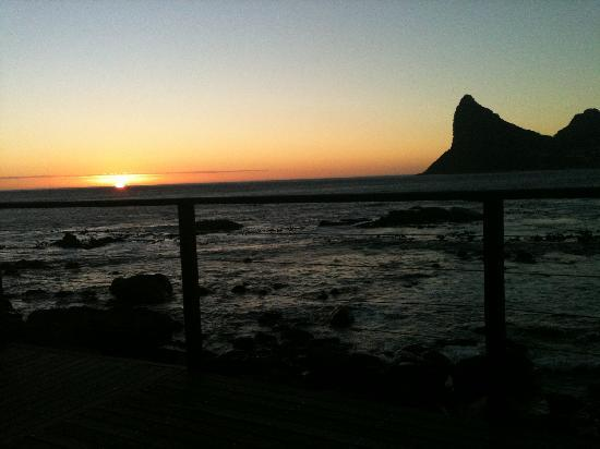 Tintswalo Atlantic: Another perfect sunset in paradise!