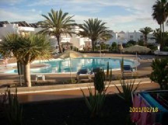liegen am pool picture of hotel floresta puerto del carmen tripadvisor. Black Bedroom Furniture Sets. Home Design Ideas
