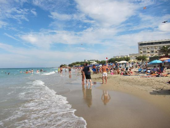 Hotel del Levante: пляж