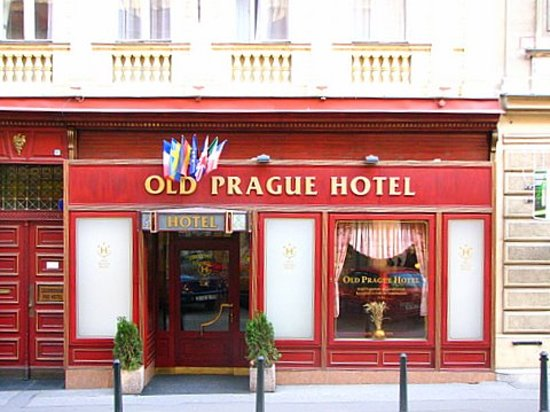 Old Prague Hotel: hotel building