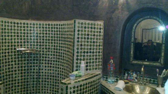 Riad Malaika : our bathroom