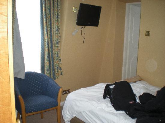 Best Western Burns Hotel Kensington: la camera