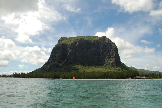 LUX* Le Morne: Out on the pedal boat