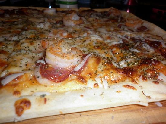 La Fontana : Suculentos mariscos en Pizza Del Mar