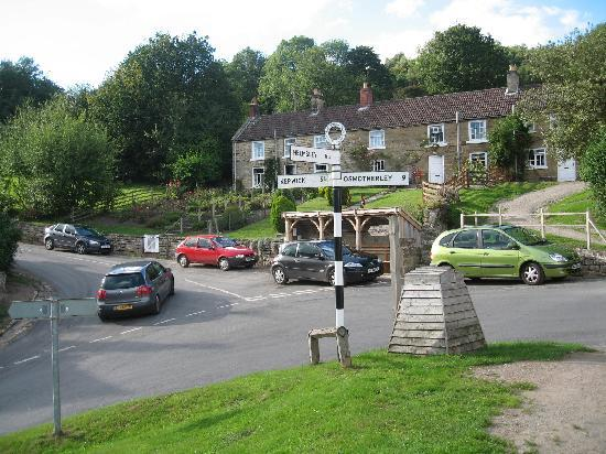 The Inn at Hawnby: TRAFFIC JAM!