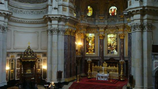Berlin Cathedral: Interni del Berliner Dom
