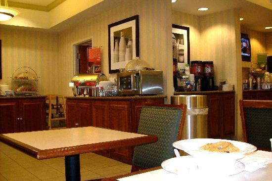 Hampton Inn San Francisco-Airport: La zona colazione