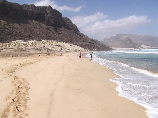 Calhau, Cabo Verde: Beach 1