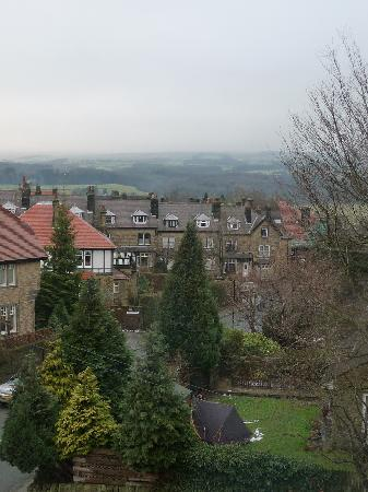 The Wheatley Arms: the view from one of the bedrooms we have stayed in