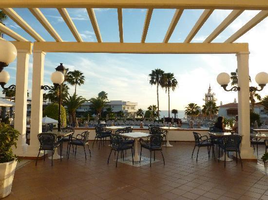 Hotel Riu Arecas : Terrace