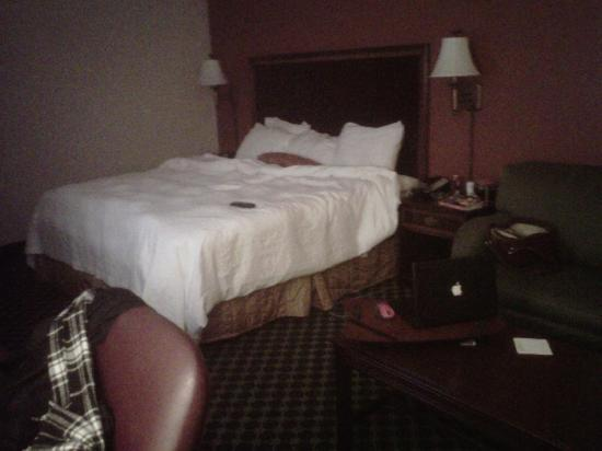 Hampton Inn Winston-Salem - I-40 / Hanes Mall: Our room! Best bed ever!