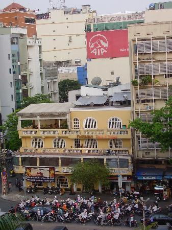 Park Hyatt Saigon: view from room (fifth floor)
