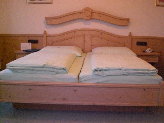 Hotel Residenz Beckenlehner : letto