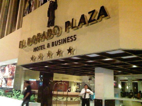 Dorado Plaza Hotel & Business: entrada