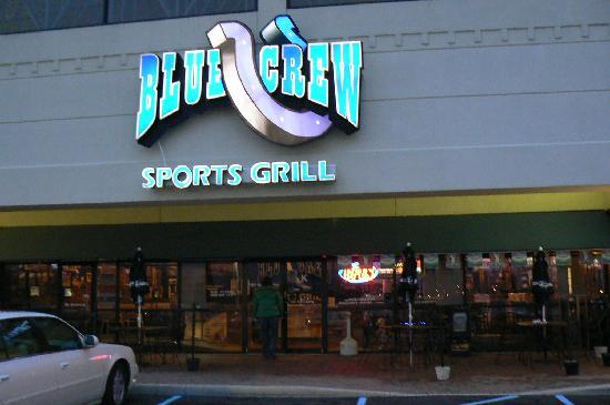 Blue Crew Sports Grill: Blue Crew - Outside