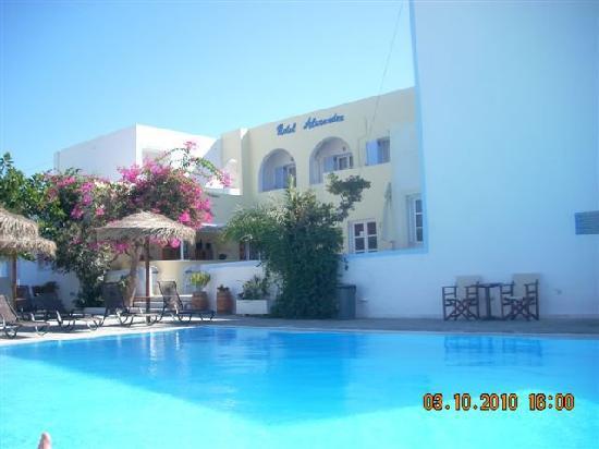 Alexandra Hotel: pool