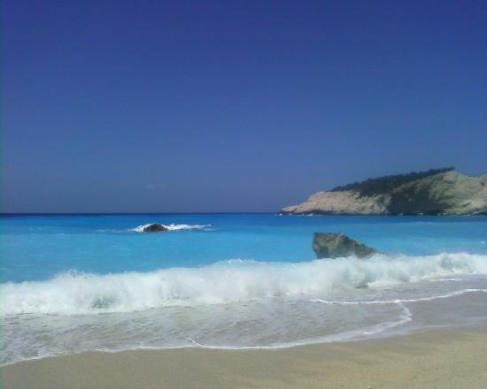 Lefkada, Greece: Beach