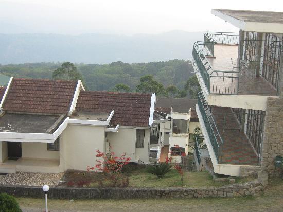 Ayur County Resorts: top view