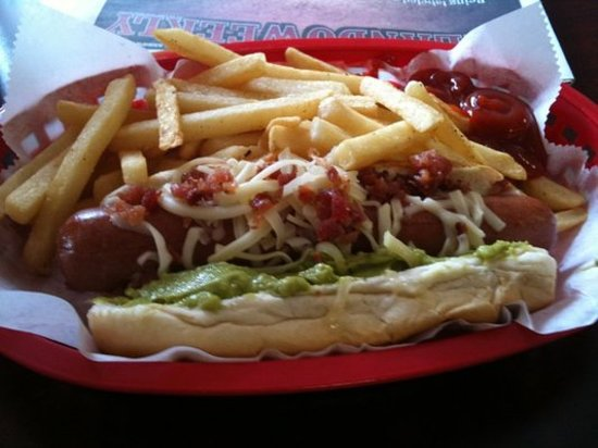 Jazzy Dog Cafe: cheese dog