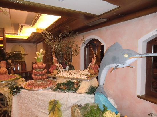 Family & Wellness Hotel Shandranj: Gran buffet allo Shandranj