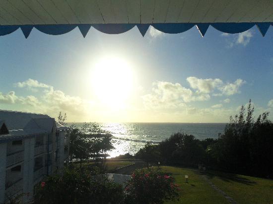 Le Manganao Hotel Club Paladien: lever de soleil vu de la chambre