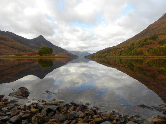 Ballachulish, UK: Loch Leven - mine's a double