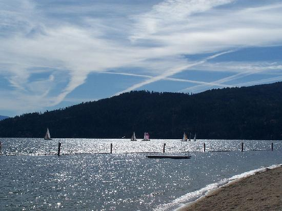 City Beach at Sandpoint
