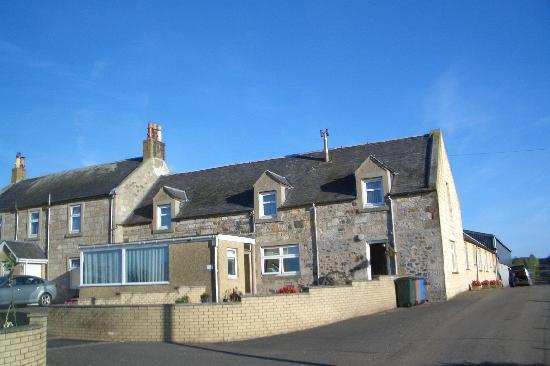 West Tannacrieff: Farmhouse showing the B&B wing