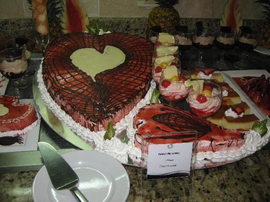 Cofresi Palm Beach & Spa Resort: valentines day yum yum's