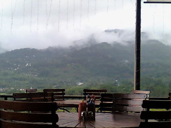 Cimory Mountain View: Foggy view