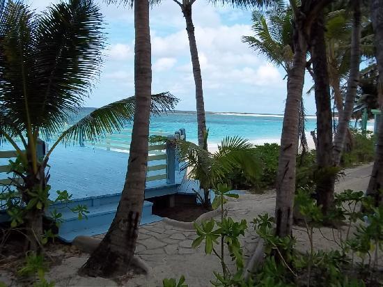 Sivananda Ashram Yoga Retreat: Beach view near the dorm room