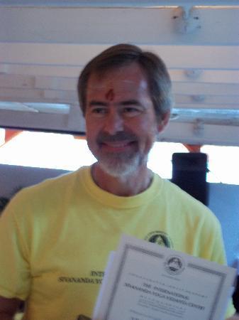 Sivananda Ashram Yoga Retreat: TTC Graduation photo