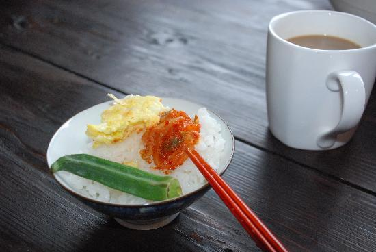 "Tokashiki Guesthouse: Homecooked ""Japanese"" breakfast"